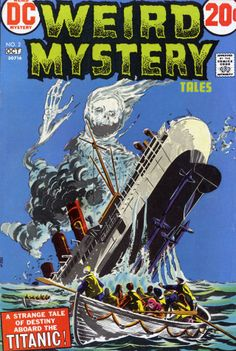 Weird Mystery Tales N°2 (October 1972) - Cover by Howard Purcell