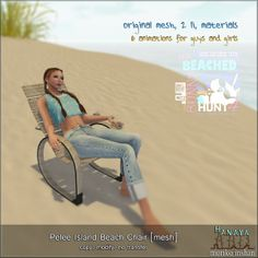 -Hanaya- Pelee Island Beach Chair [mesh] HUNT GIFT | Flickr - Photo Sharing!