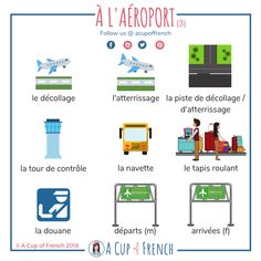 Learn French with A Cup of French! Easy and fun lessons with infographics and videos. You can enjoy your cup of French wherever you want and at your own pace. French Language Lessons, French Language Learning, French Lessons, German Language, Spanish Lessons, Japanese Language, Spanish Language, Basic French Words, French Phrases