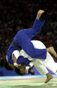 A lot of people are familiar with my seoi nage.