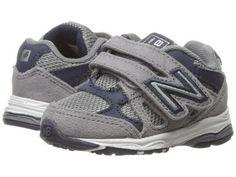 New Balance Kids - KV888v1 (Infant/Toddler) (Grey/Navy) Boys Shoes