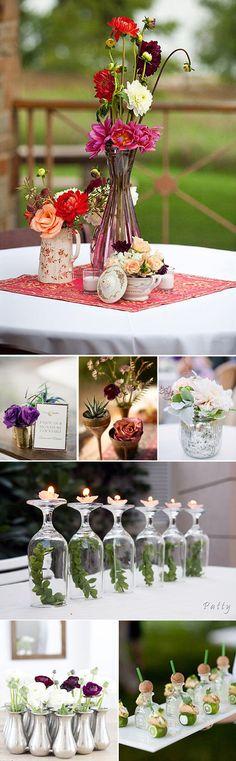 Decoración del cóctel en las bodas – Ideas e inspiración