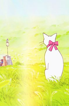 Studio Ghibli The Cats Returns Grave Of The Fireflies, Japanese Animated Movies, The Cat Returns, Neko, Castle In The Sky, Ghibli Movies, Anime Animals, Hayao Miyazaki, Cat Art