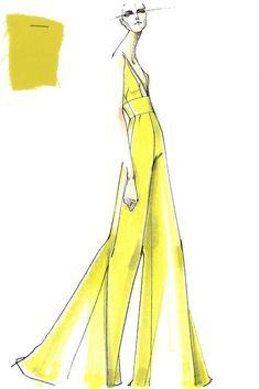 Yellow jumpsuit... Ylime xxx