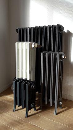 Traditionnel Style Vintage Fonte pieds pour vieux Reclaimed radiateurs 3 Tailles