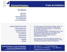 Backnang: Köchel + Partner, Freie Architekten