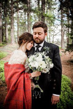 Woodland Handfasting Wedding in Scotland http://wilsonmcsheffrey.co.uk/