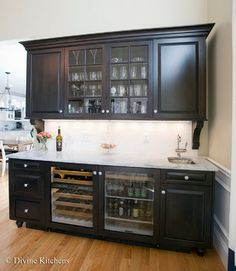 Finding Room for an Undercounter Wine Refrigerator