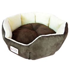 This Mocha Beige Round Oval Pet Bed for Small Dogs or Cats has Faux Suede and Soft Velvet with waterproof and skid free base. Filled with extra thick Dog Beds For Small Dogs, Small Cat, Puppy Supplies, Cat Cushion, Cat Bag, Dog Blanket, Pet Mat, Warm Blankets, Pet Beds