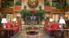 Celebrate Christmas Year-Round at This Very Merry Tennessee Hotel | The Inn at Christmas Place is bringing good cheer all year! It's only July, but it's already beginning to look a lot like Christmas. And for the people living in Pigeon Forge, Tennessee, the magic of Christmas is available 365 days a year, thanks to attractions like the Incredible Christmas Place, the South's largest holiday-themed store, and The Inn at Christmas Place. Booking a reservation at the The Inn at Christmas Place…