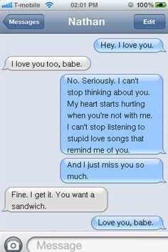 Hey. I love you.