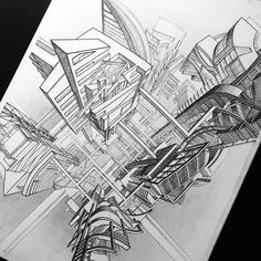VOTRE ART: Architectural Drawing by Adelina Gareeva
