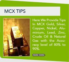Here we provide MCX tips.. #stockmarket #tips