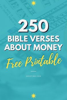 FREE Printable! 250 Bible Verses about Money, Debt, saving, investing, budgeting, giving, God's provision, and more! #bibleverses #biblestudy #seedtime Debt Snowball Spreadsheet, Debt Snowball Calculator, Financial Tips, Financial Planning, Biblical Stewardship, Bible Study Plans, Household Expenses, Free Bible, Sunday School Lessons