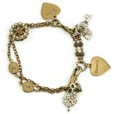 Found it at Wayfair - Bits of Random Love Charm Bracelet