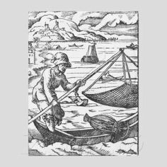 Medieval fishing tools & techniques.