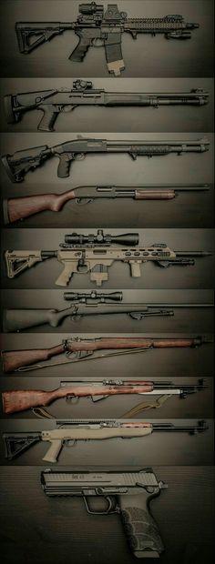 235961b90d6 Your Walking Dead Survival Kit Weapons Guns