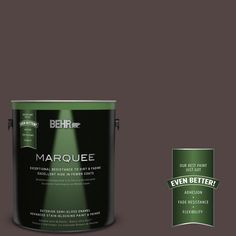 BEHR MARQUEE Home Decorators Collection 1-gal. #hdc-MD-13 Rave Raisin Semi-Gloss Enamel Exterior Paint