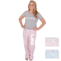 Now available Gamma Phi Beta Pa... Shop http://manddsororitygifts.com/products/gamma-phi-beta-pajama-pants-stripe?utm_campaign=social_autopilot&utm_source=pin&utm_medium=pin