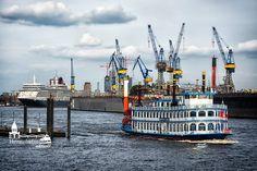 Hamburg - die Stadt der Glücklichen, der Sehnsucht und der Erfüllung www.heimathafen-aktuell.de #hamburg #hafen #harbour #elbe #cruiseliner #louisianastar