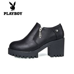 (59.99$)  Buy here - http://aiyn1.worlditems.win/all/product.php?id=32790698753 - Women's Spring 2017 Black High Height Platform Fashion Casual Office Work Travel Walk Party Ankle Boots Shoes