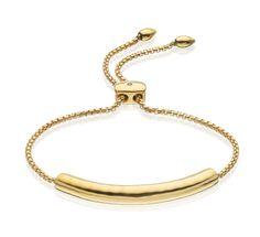 Gold Vermeil Esencia Chain Bracelet