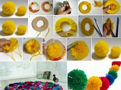20 ideas para hacer con pompones! - Taringa!