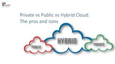Find out the pros and cons of public, private and hybrid cloud models.