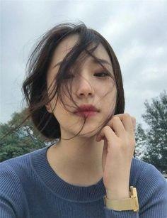 Ideas For Hairstyles Femme Asian Ulzzang Korean Girl, Cute Korean Girl, Cute Asian Girls, Beautiful Asian Girls, Ulzzang Couple, Cute Girls, Ulzzang Girl Selca, Ullzang Girls, Girl Korea