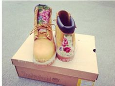 Women's Timberland Floral Print Boots | eBay