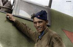 Soviet Lieutenant Technician for fighter plane's WWII  