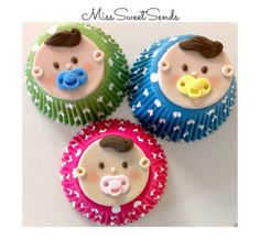 Baby Shower Cupcake Toppers