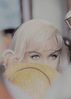 Marilyn Monroe photographed by Elliot Erwitt on the set of The Misfits, 1961.
