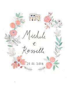 Wedding invite idea! Love her designs!
