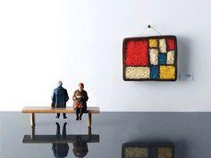 Edible Copies Of Masterpieces - Mondrian