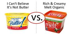 Face-off:  I Can't Believe It's Not Butter vs Rich & Creamy Melt