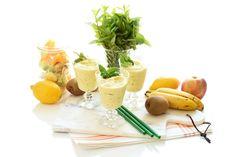 Smoothies, Cantaloupe, Potato Salad, Panna Cotta, Dairy, Cheese, Fruit, Ethnic Recipes, Desserts