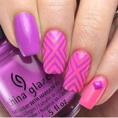 WEBSTA @ hbbeautybar - 💖💜 #love @mariepruitt 💅🏼 China Glaze 'That's Shore…