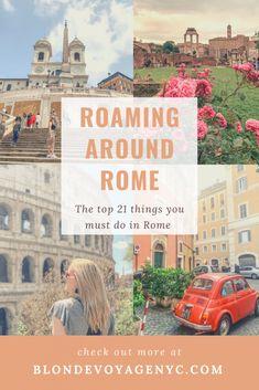 ROAMING AROUND ROME