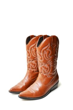 cowboy boots women western embroidered boots brown Country style Boho chic Cowgirl Leather Vintage Size EU45/US11.5 by SixVintageChicks on Etsy