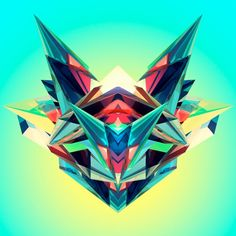 hone iPad and iPod Touch wallpapers for the rest of us. Justin Maller, Gaming Wallpapers, Iphone Wallpapers, Creative Inspiration, Colour Inspiration, Visual Communication, Geometric Art, Cool Wallpaper, Custom Art