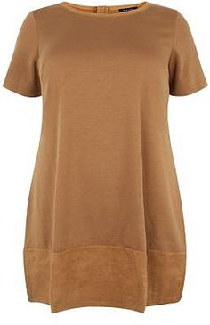 Womens tan top from New Look - £22.99 at ClothingByColour.com