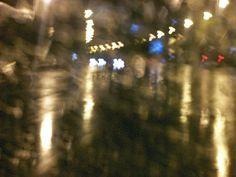 FOTOGRAFIAS/ Serie Luces Lluvia Noche