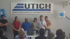 Pablo Bittel asume la conducción de la Unión de Trabajadores de la Informática del Chaco. Referentes políticos acompañan la asunción del joven dirigente resaltando el recambio generacional.