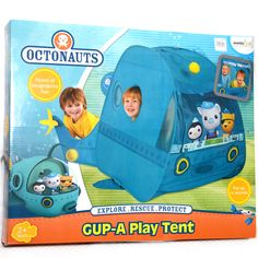Octonauts Gup A Kids Play Tent Barnacles, Kwazii, Peso *New in Toys, Hobbies | eBay