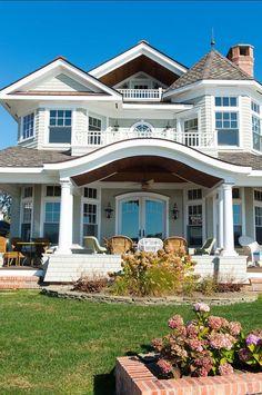 24 Most Popular Dream House Exterior Design Ideas ~ House Design Ideas Style At Home, Future House, Architecture Design, Villa Plan, Dream Beach Houses, Home Wallpaper, Home Fashion, Fashion Fail, Beach Fashion