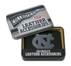 NCAA North Carolina Tar Heels Embroidered Trifold Wallet by Rico. Save 14 Off!. $21.38