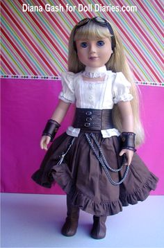 Whoa even american girl dolls do steampunk?