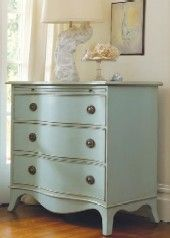 Just getting ready to paint my bedroom furniture...love this dresser!