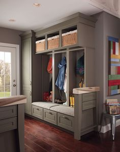Mud Room Idea